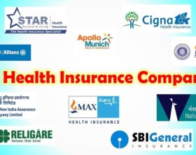 health insurance companies in India list
